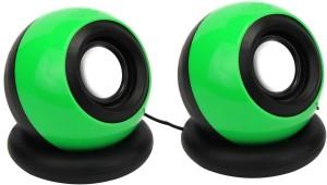 Ad Net Usb 2.0 Wired Portable Mini (Green 2.0 Channel) Portable Laptop/Desktop Speaker