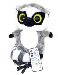 Shrih Multifunctional OWL Plush Toy Wireless Micro SD Memory Card Stereo w/ FM Radio Microphone Portable Bluetooth Laptop/Desktop Speaker