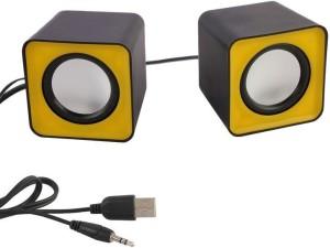 HashTag Glam 4 Gadgets Multimedia USB 2.0 Mini FC1 1360 Portable Laptop/Desktop Speaker