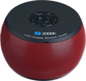 Zoook ZB-BS100 Portable Bluetooth Mobile/Tablet Speaker