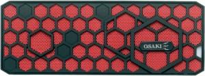 Osaki Jukebox (Red) Portable Bluetooth Mobile/Tablet Speaker