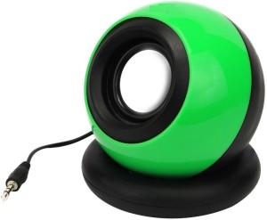 Ad Net Green Mini With 3.5mm Stereo Audio Output For Laptop/Desktop Portable Mobile/Tablet Speaker