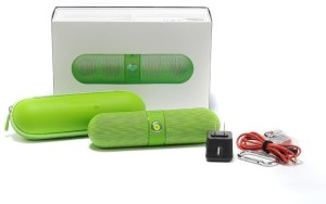 Finger's Limited Edition Pill Big Sound Box Green Portable Bluetooth Mobile/Tablet Speaker