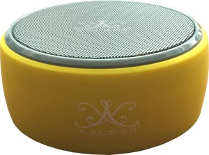 Axcess Mini High Bass with FM Radio Control Portable Bluetooth Mobile/Tablet Speaker