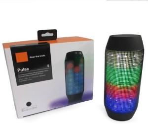 BKT Pulse Wireless Bluetooth Speaker WITH LED Light Play Portable Bluetooth Mobile/Tablet Speaker