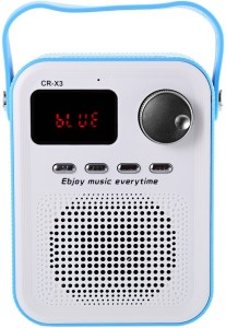 Orico CR - X3 FM Radio Wireless Bluetooth Speaker with TF Card Portable Bluetooth Mobile/Tablet Speaker (Blue) Portable Bluetooth Mobile/Tablet Speaker