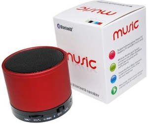 A One S10 Mini Portable Speaker(RED) With Free USB Data Cable Portable Bluetooth Mobile/Tablet Speaker