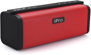 Ipro BLADE-X Sp-310 Portable Bluetooth Red Black Portable Bluetooth Mobile/Tablet Speaker