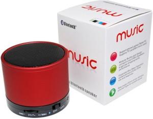 HAPS S10 Wireless Portable Mini Bluetooth Spreaker_RED Portable Bluetooth Mobile/Tablet Speaker