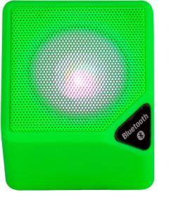 Finger's MINI X-3 Green Cube Portable Bluetooth Mobile/Tablet Speaker