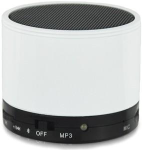 CheckSums 11610 S10 White Portable Wireless BT Speaker For Mobile Phone Portable Bluetooth Mobile/Tablet Speaker