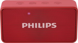 Philips BT64R/94 Portable Bluetooth Mobile/Tablet Speaker