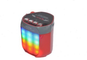 Outre WS-Y92B Disco Light Outdoor Wireless Radio Function TF Card Portable Bluetooth Mobile/Tablet Speaker