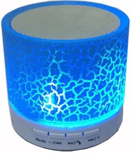 A Connect Z Multicolor LED Light S-10 Best Quality Sound Base -263 Portable Bluetooth Mobile/Tablet Speaker
