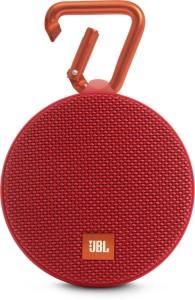 JBL CLIP 2 RED Portable Bluetooth Mobile/Tablet Speaker