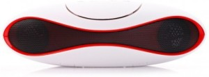 CheckSums 15300 Rugby Bluetooth Multimedia Speaker With Fm/Pen Drive/Sd Card/Aux Cable/Conference Call Feature- White Portable Bluetooth Mobile/Tablet Speaker