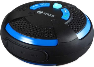 Zoook blue zb-aqua Portable Bluetooth Mobile/Tablet Speaker