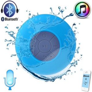 Gadget Bucket Portable New Bluetooth Speaker Subwoofer Shower Waterproof Wireless Handsfree Portable Mobile/Tablet Speaker
