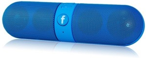 Qwerty P96076 Facebook Portable Bluetooth Mobile/Tablet Speaker
