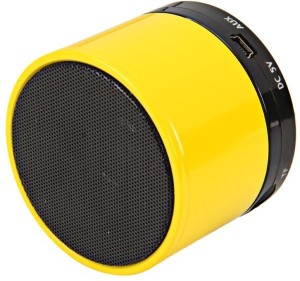 CheckSums 11605 S10 Yellow Portable Wireless BT Speaker For Mobile Phone Portable Bluetooth Mobile/Tablet Speaker