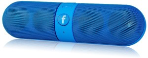 Qwerty P94936 Facebook Portable Bluetooth Mobile/Tablet Speaker
