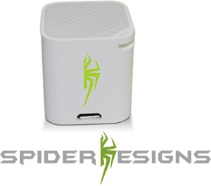 Spider Designs Ice Cube SD202 Portable Bluetooth Mobile/Tablet Speaker