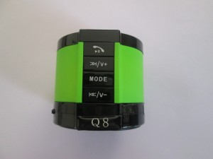 Anwyn Bluetooth Speaker Wireless With Mic - Aw/Ew-Bsq8/ 101 - Green Portable Bluetooth Mobile/Tablet Speaker
