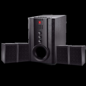 Iball Tarang 4.1 USB, FM, SD/MMC Home Audio Speaker