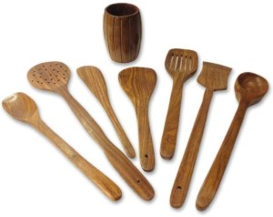 Craftgasmic Disposable Wooden Wooden Spoon SetPack of 8