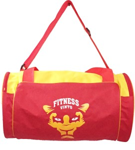 Vinto FITNESS RED YELLOW Duffel Bag
