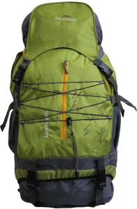 5b7a0c7f8238 Inlander Decamp 1006 Backpack Green Grey Rucksack Best Price in ...