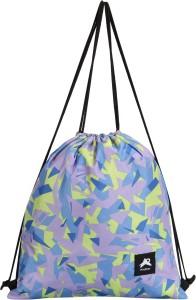 PinStar Zynga String Backpack - Graphic Lavender (XL) Drawstring Bag