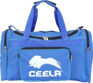 389cc96ba9af Ceela Sports Duffle Personal Duffle Bag Blue Kit Bag Best Price in ...