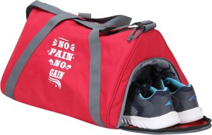 PinStar Fitness Gym Bag - Red Gain (OS) Gym Bag