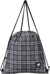 dd4e7eb564 PinStar Zynga String Backpack Tartan Grey XL Drawstring Bag Grey ...