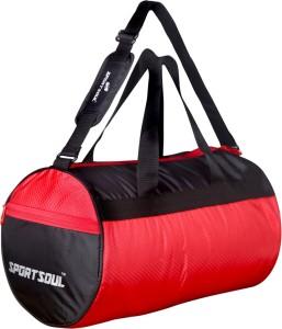 SportSoul Gym Bag with Shoe Pocket Duffel Bag