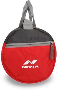 de6079425815 Nivia Beast 3 Gym Bag Duffle Red Grey Kit Bag Best Price in India ...