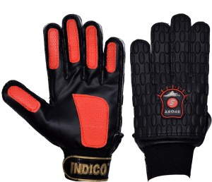 Indico Keeper mould pu Football Gloves (L, Multicolor)
