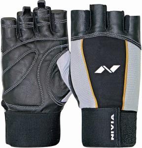 Nivia Tough Gym & Fitness Gloves (L, Multicolor)