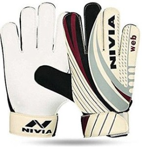 Nivia WEB GOAL KEEPING Football Gloves (Men, Multicolor)