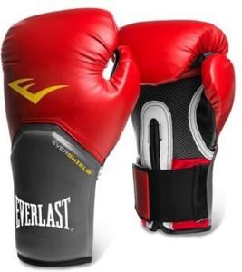 Everlast Pro Style Elite Training Boxing Gloves (S, Red)