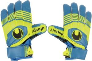UHL Sport Eliminator Football Gloves (Men, Yellow, Blue)