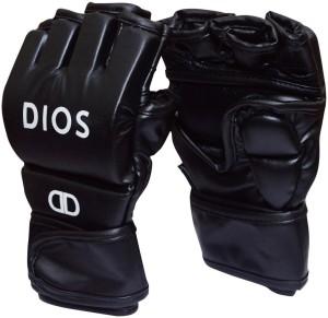 Dios Gladiator Boxing Gloves (L, Black)