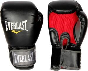 Everlast Pro Style Muay Thai Boxing Gloves (Black)