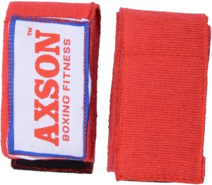 AXSON Fighting Boxing Gloves (Free Size, Red)
