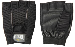 Everlast Ross Weightlifting Boxing Gloves (L, Black)
