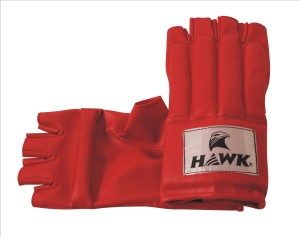 HAWK Fight Boxing Gloves (L, Red)