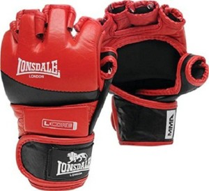 Xpeed AMATEUR MMA FIGHT Martial Art Gloves (L, Red-Black)