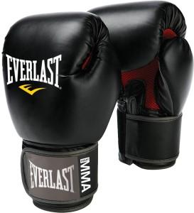 Everlast Pro Style Muay Thai Boxing Gloves (Free Size, Black)