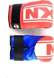 RXN Punching Boxing Gloves (M, Red, Blue)